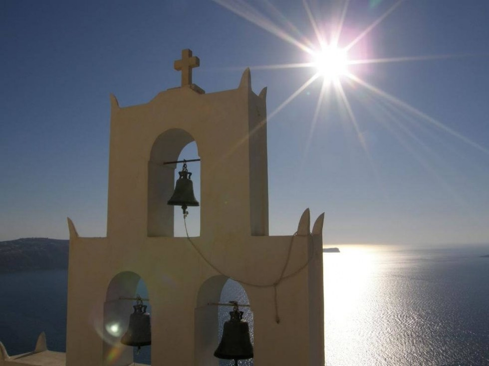 Church of Agios Nikolaos in Santorini
