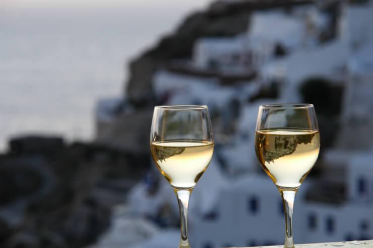 Art Maisons wine in Santorini