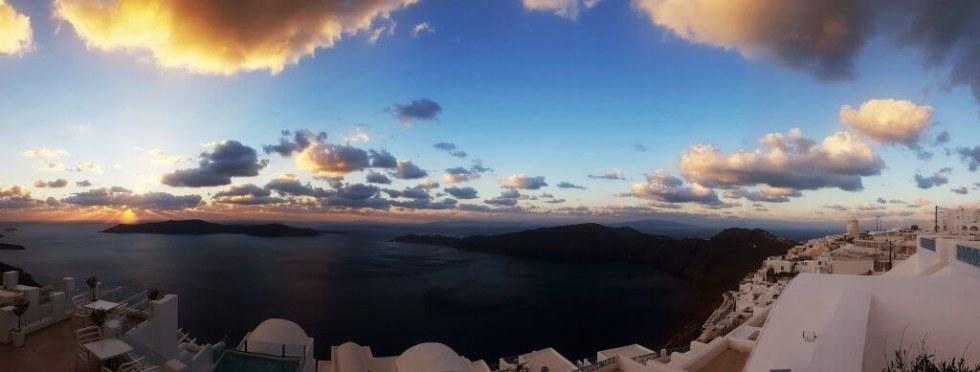 Imerovigli sunset